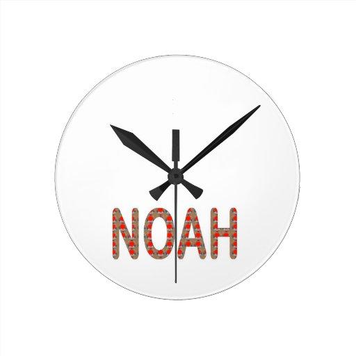 Versez NOÉ : Artistique de cadeaux de NavinJOSHI d Horloge Murale