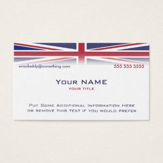 Version 1 d'Union Jack Cartes De Visite