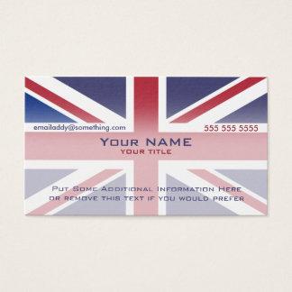 Version 3 d'Union Jack Cartes De Visite