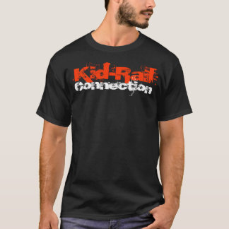 Version d'épave de train de T-shirt de connexion