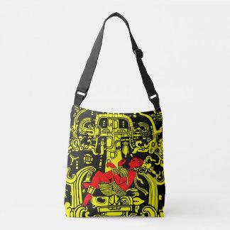 Version jaune et rouge d'astronaute antique - sac