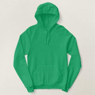 Vert/blanc de Kelly du sweat - shirt à capuche 2
