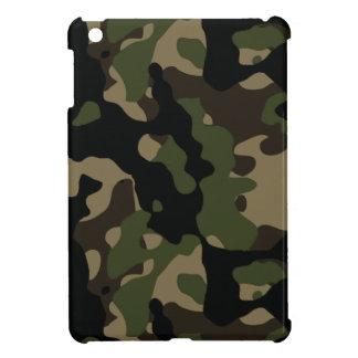 Vert d'armée et camouflage de militaires de Brown Coque Pour iPad Mini