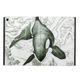 Vert de carte d'orque protection iPad air