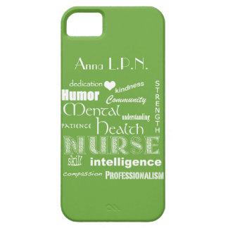 Vert de /Celery d'Infirmière-Attributs de santé me Coque iPhone 5 Case-Mate
