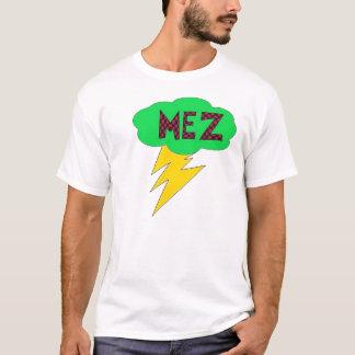 Vert de chemise de foudre de Mez, rouge, jaune T-shirt