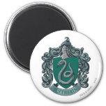 Vert de crête de Harry Potter   Slytherin Magnet Rond 8 Cm