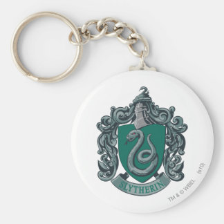 Vert de crête de Harry Potter   Slytherin Porte-clé Rond