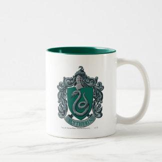 Vert de crête de Harry Potter | Slytherin Tasse 2 Couleurs