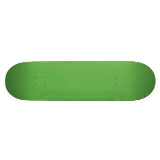 Vert de feuille de ressort dans un mariage skateboard  20 cm