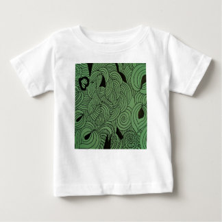 Vert de formation d'éther t-shirt pour bébé