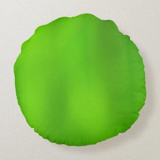 Vert de gradient à vert clair coussins ronds