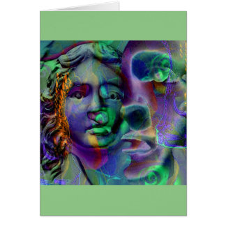 Vert de lavande de cauchemar cartes