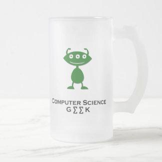 Vert de l'informatique de geek d'oeil triple tasse