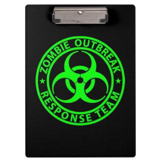 Vert de néon d'équipe de réponse de manifestation
