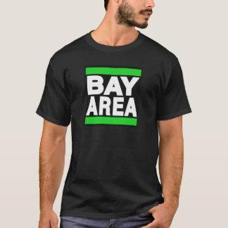 Vert de région de baie t-shirt