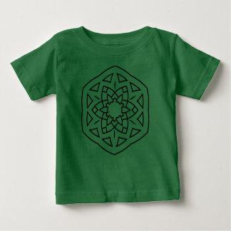 Vert de T-shirt de concepteurs avec le mandala