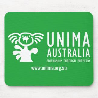 VERT de tapis de souris d'UNIMA Australie