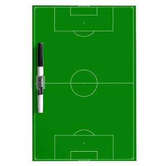 Vert de terrain de football tableau blanc effaçable à sec