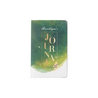 Vert de zodiaque de Taureau et journal de couleur