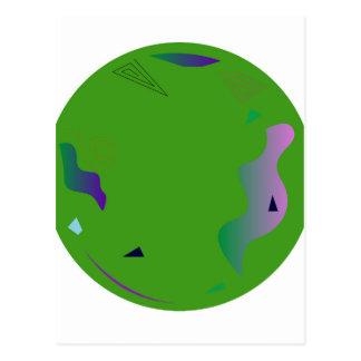 Vert d'OPALE. Illustration originale Carte Postale