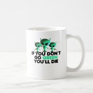Vert drôle mug
