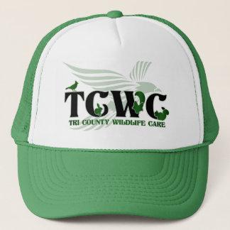 Vert du casquette | de logo de TCWC