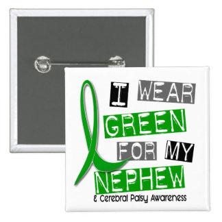 Vert d'usage de l'infirmité motrice cérébrale I po Badge