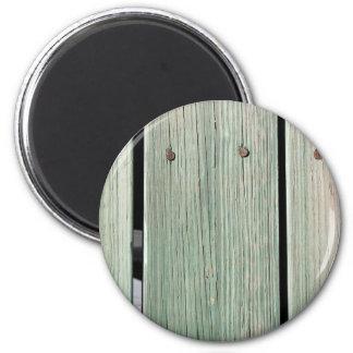 Vert et passage couvert en bois de planche de aimant