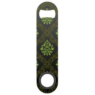 Vert floral de papier peint