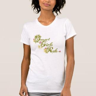 Vert futé de règle de filles t-shirt
