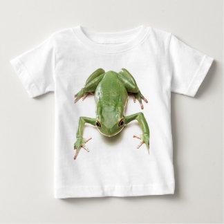 Vert-Grenouille T-shirt Pour Bébé
