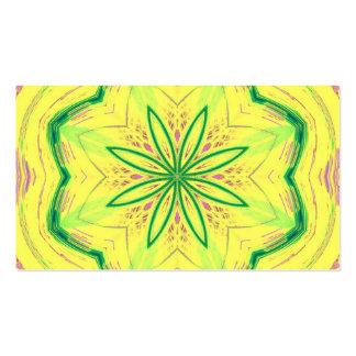 vert impressionnant de Kaleido 02 Cartes De Visite Personnelles