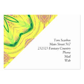 vert impressionnant de Kaleido 02 Carte De Visite Grand Format