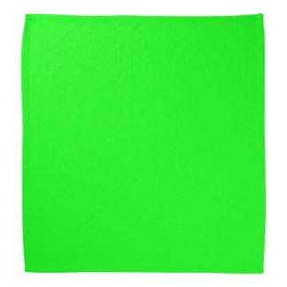 Vert lumineux de kiwi bandana