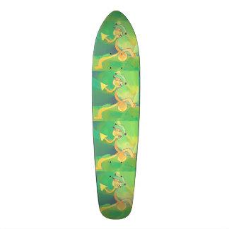 Vert/or d'abrégé sur jardinier de danse de planche skateoard personnalisé