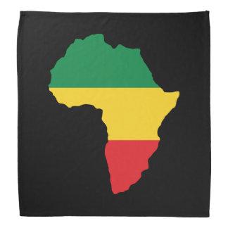 Vert, or et drapeau rouge de l'Afrique Bandanas