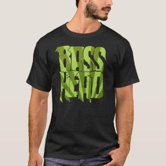 Vert principal bas de rayon de soleil t-shirt