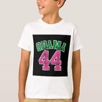 vert rose d'obama 44 pour les femmes foncées t-shirt