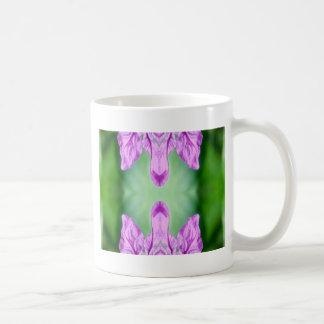 """Vert rose lumineux """"venant ensemble"""" résumé mug blanc"""