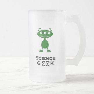 Vert triple de geek de la Science d'oeil Tasse