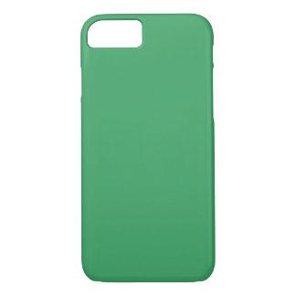 Vert vert personnalisable moderne, coque iPhone 7