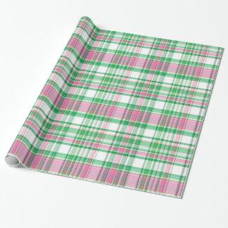 Vert vert, rose indien, plaid de très bon goût papiers cadeaux noël