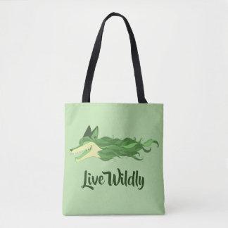 Vert vivant de sac fourre-tout à Fox d'une manière