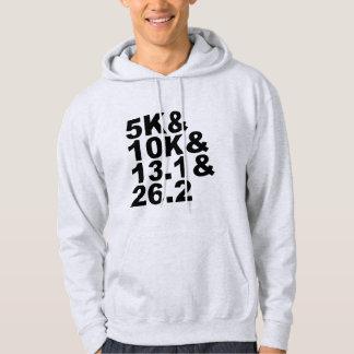 Veste À Capuche 5K&10K&13.1&26.2 (noir)
