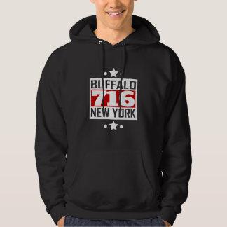 Veste À Capuche 716 indicatif régional de Buffalo NY