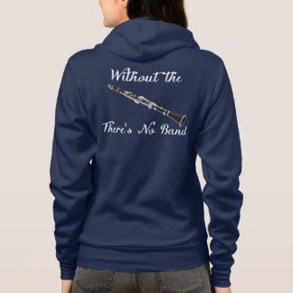 Veste À Capuche Amer des femmes de clarinette. $$etAPP. Fermeture