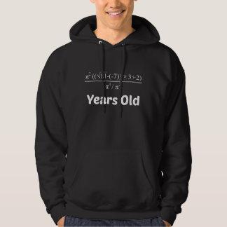 Veste À Capuche Anniversaire d'équation d'algèbre cinquantième