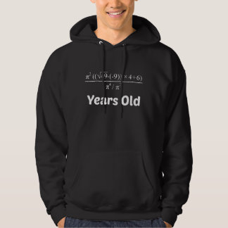 Veste À Capuche Anniversaire d'équation d'algèbre soixante-dixième