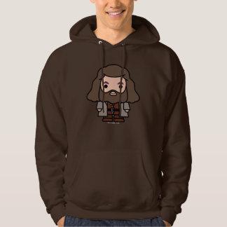Veste À Capuche Art de personnage de dessin animé de Hagrid